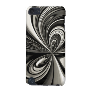 Black and White Bow Abstract iPod Touch 5G Covers