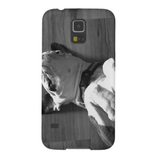 Black and White Boxer Love Galaxy S5 Cover