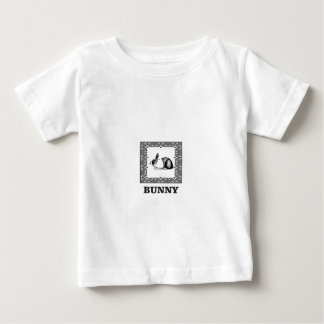 black and white bunny baby T-Shirt
