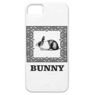 black and white bunny case for the iPhone 5