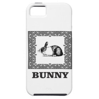 black and white bunny iPhone 5 case