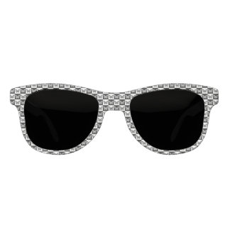 Black and white butterflies sunglasses