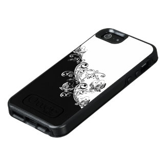 Black and White Butterfly OtterBox iPhone SE Case