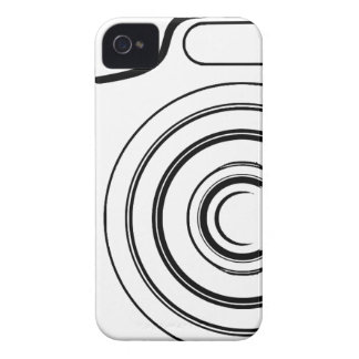 Black and white camera iPhone 4 cover