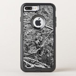 black and white Camouflauge i phone case