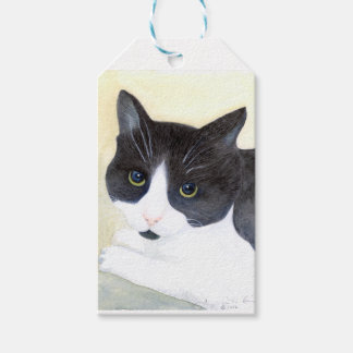 Black and White Cat Gift Tags