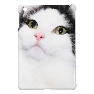 BLACK AND WHITE CAT IPAD MINI CASE