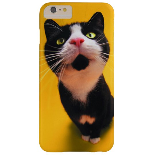 Black and white cat-tuxedo cat-pet kitten-pet cat barely there iPhone 6 plus case