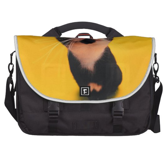 Black and white cat-tuxedo cat-pet kitten-pet cat computer bag