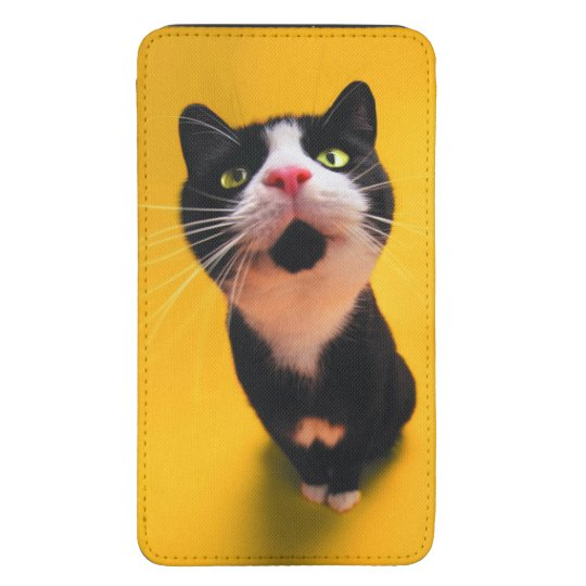 Black and white cat-tuxedo cat-pet kitten-pet cat galaxy s5 pouch