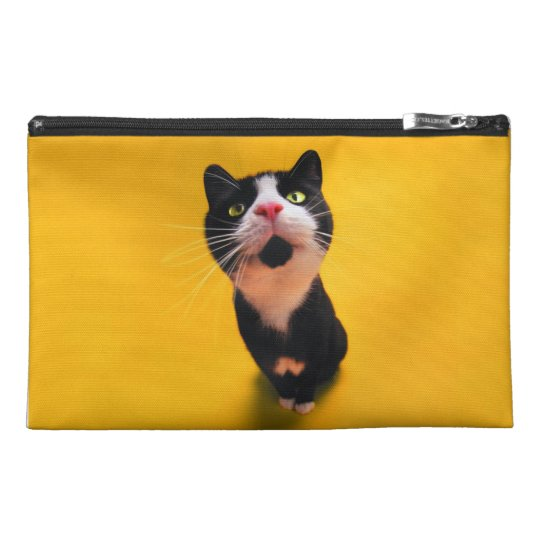 Black and white cat-tuxedo cat-pet kitten-pet cat travel accessory bags