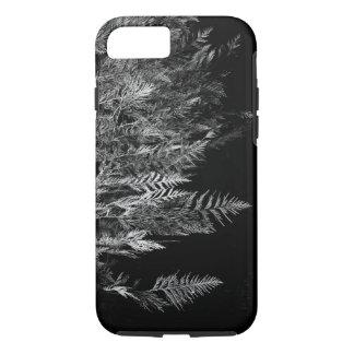 Black and White Cedar Tree iPhone 7 Case