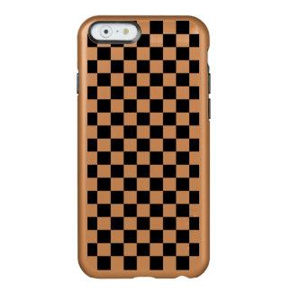 Black and White Checkerboard Incipio Feather® Shine iPhone 6 Case
