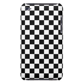 Black and White Checkerboard iPod Case-Mate Case