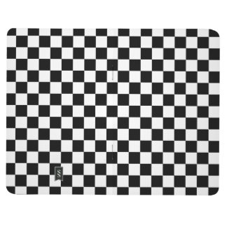 Black and White Checkerboard Journal