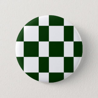 Black And White checkerboards 2 Inch Round Button