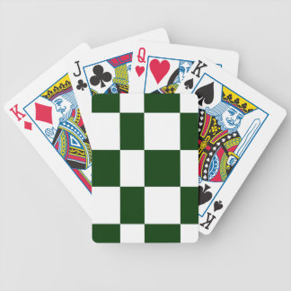 Black And White checkerboards Bicycle Playing Cards