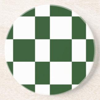 Black And White checkerboards Coaster