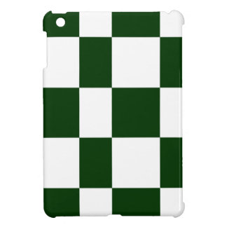Black And White checkerboards Cover For The iPad Mini