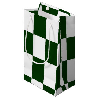 Black And White checkerboards Small Gift Bag