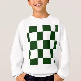 Black And White checkerboards Sweatshirt