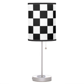 Black And White Checkered Lamps