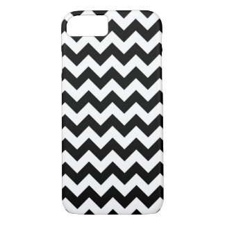 Black and white chevron pattern iPhone 8/7 case