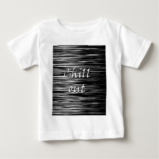 Black and white chill out baby T-Shirt
