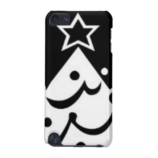 Black and White Christmas Tree iPod Touch 5G Cases