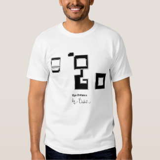 Black and white classic ego t-shirt