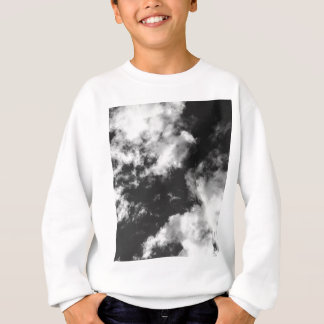 Black and White Cloudy weather Sweatshirt