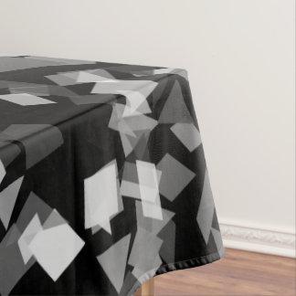 Black and White Confetti Tablecloth