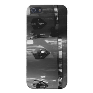 Black and white conga drums photo iPhone 5 cases