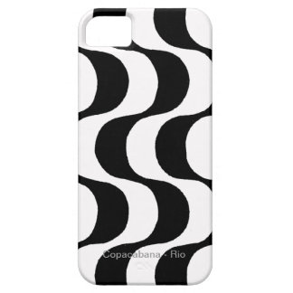 black and white copacabana, RJ iPhone 5 Covers