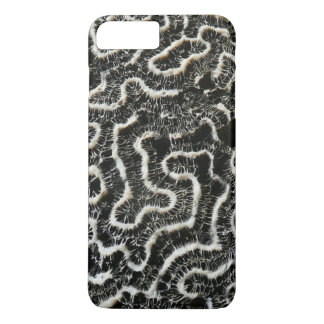 Black and White Coral II Abstract Nature Photo iPhone 7 Plus Case