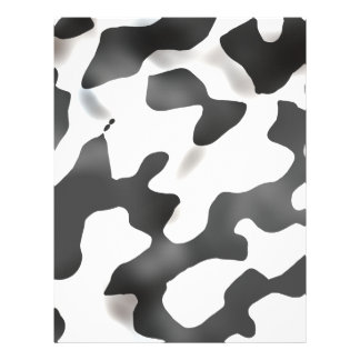 Black And White Country Cow Pattern Flyers