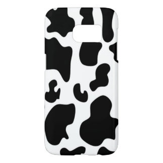 Black and White Cow Samsung Galaxy S7 Case