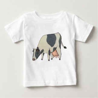 Black and White Cow T Shirts