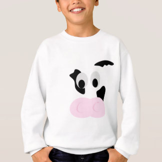 Black and White Dairy Cow or Bovine's face Shirts