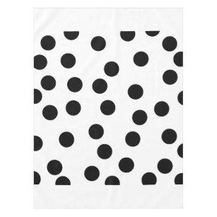 black_and_white_dalmatian_spot_pattern tablecloth