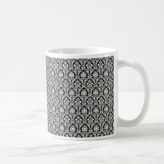 Black and White Damask Mug