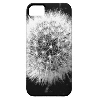 Black and white dandelion cover for iPhone 5/5S