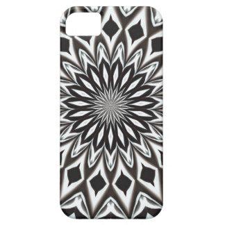 Black And White Decorative Mandala iPhone 5 Cover