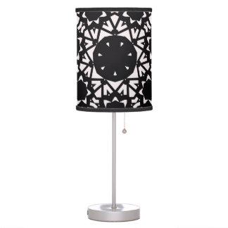 Black and white design lamp. desk lamp