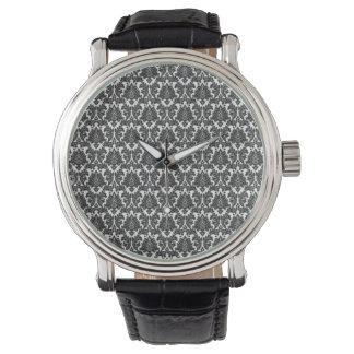 Black And White Design Pattern Watch