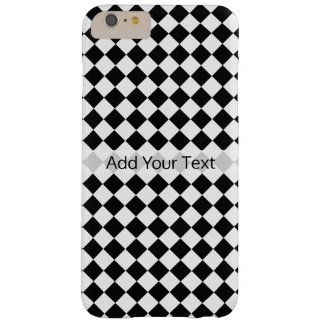 Black and White Diamond Pattern by Shirley Taylor Barely There iPhone 6 Plus Case