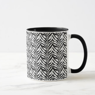 Black and White Digital Art Mug