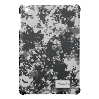 Black and White Digital Camouflage Case For The iPad Mini