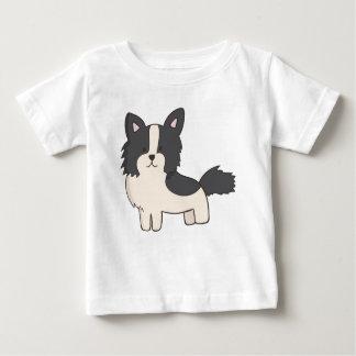 Black and White Dog Baby T-Shirt