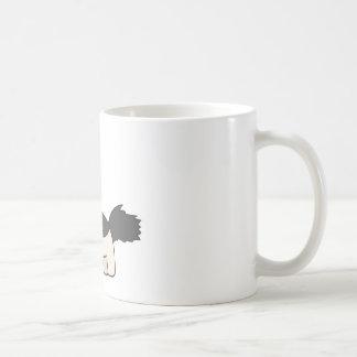 Black and White Dog Coffee Mug